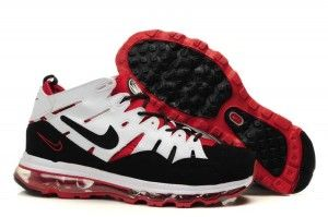 sports shoes 35ac4 f35f7 Nike Air Trainer Max 2 94 Mens Shoes White Black-Varsity Red