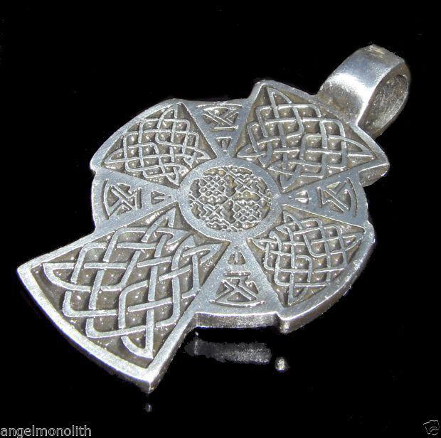 Kelten Kreuz Celtic Cross Keltisches Kreuz Amulett Anhänger