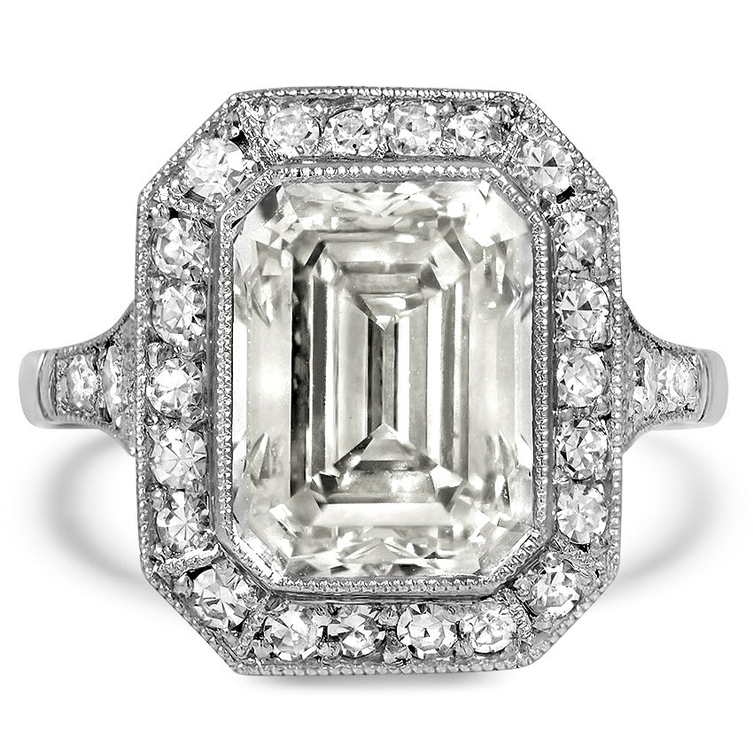 c278d8bb3 Platinum The Yonce Ring | ART DECO (MAINLY JEWELRY) | Vintage ...