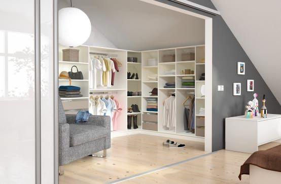 Ankleidezimmer gestalten leicht gemacht Lofts - der begehbare kleiderschrank ein traum vieler frauen