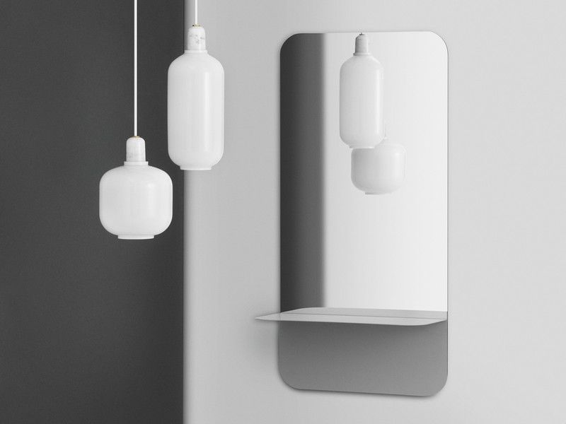 The Normann Copenhagen Horizon Wall Mirror Vertical At Nest Co Uk