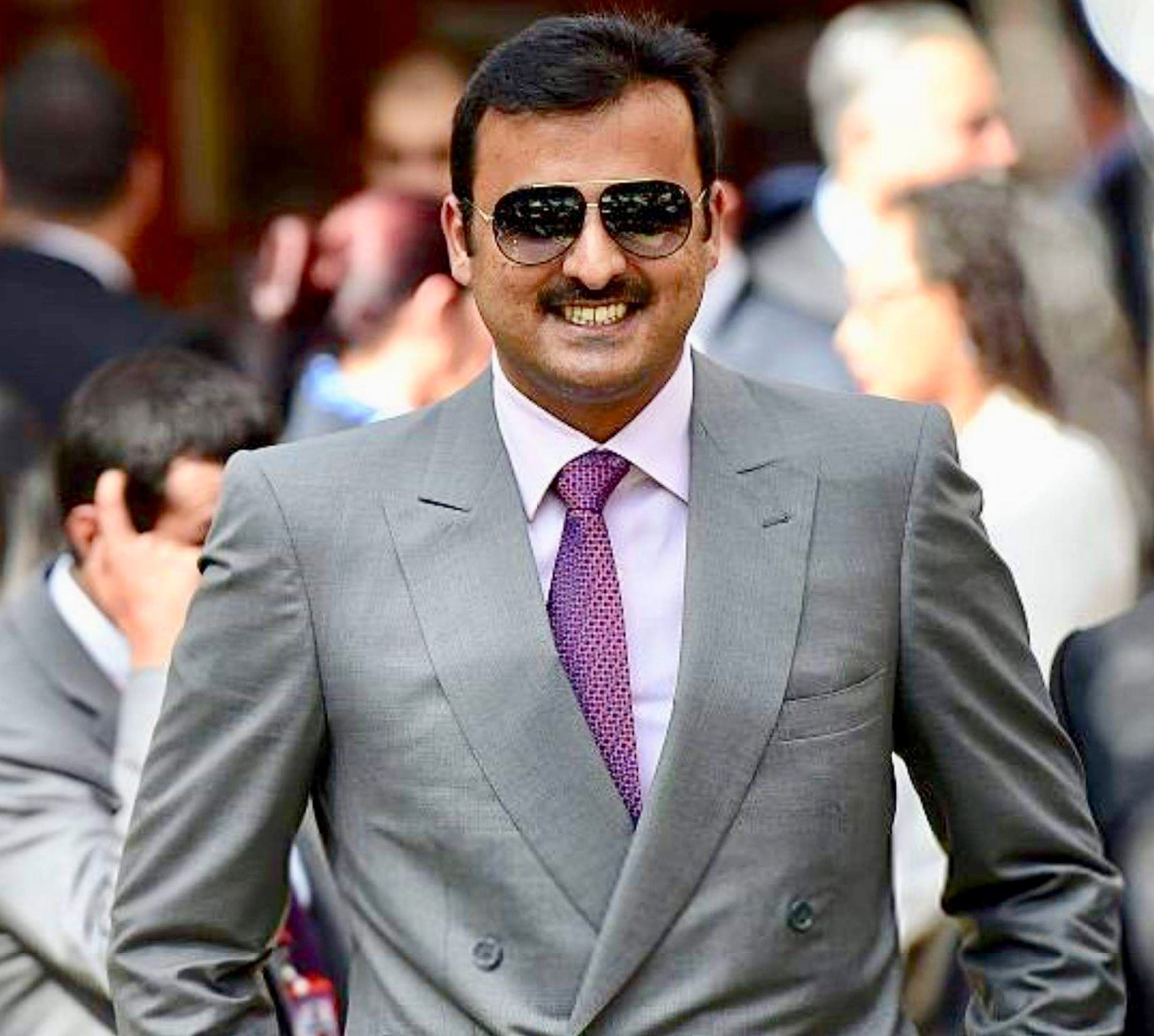 الشيخ تميم بن حمد آل ثاني أمير دولة قطر Hh Sheikh Tamim Bin Hamad Amir Of State Of Qatar Fashion Suit Jacket Single Breasted Suit Jacket