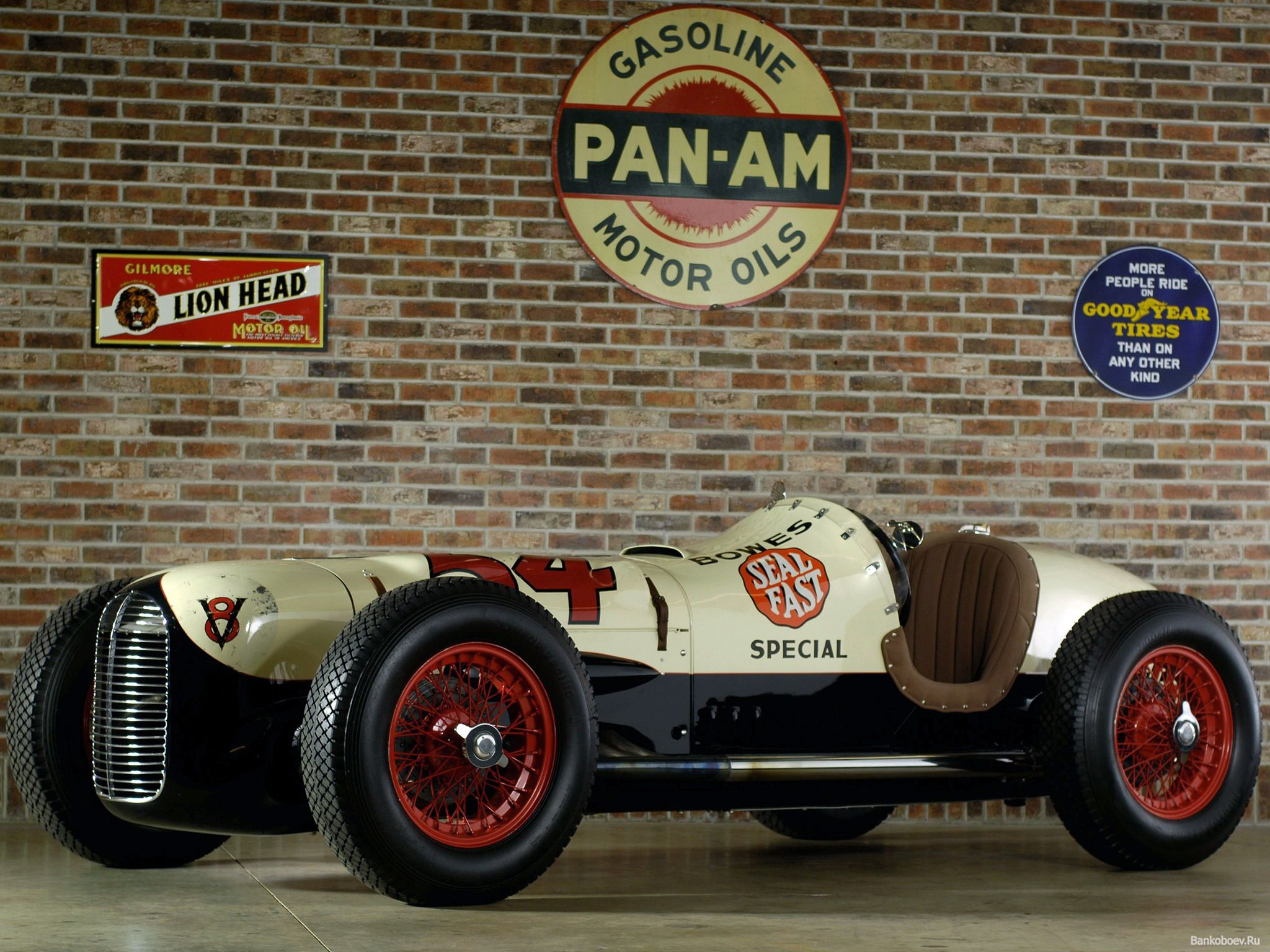 Miller Ford The First Front Wheel Drive And V8 In Indy But Was