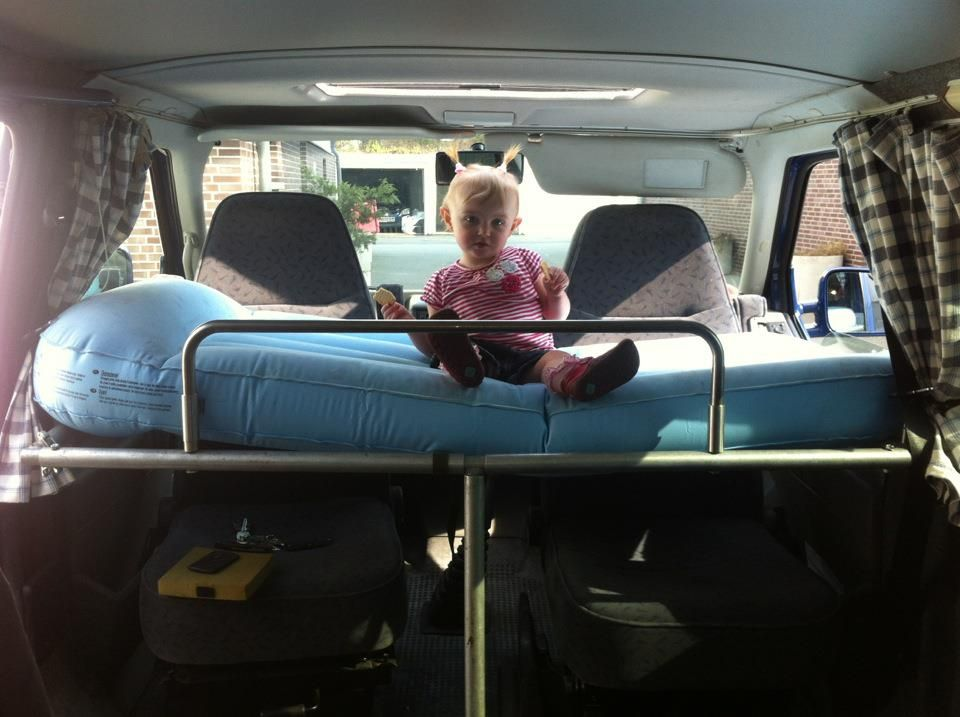 Kids Bed In The Back