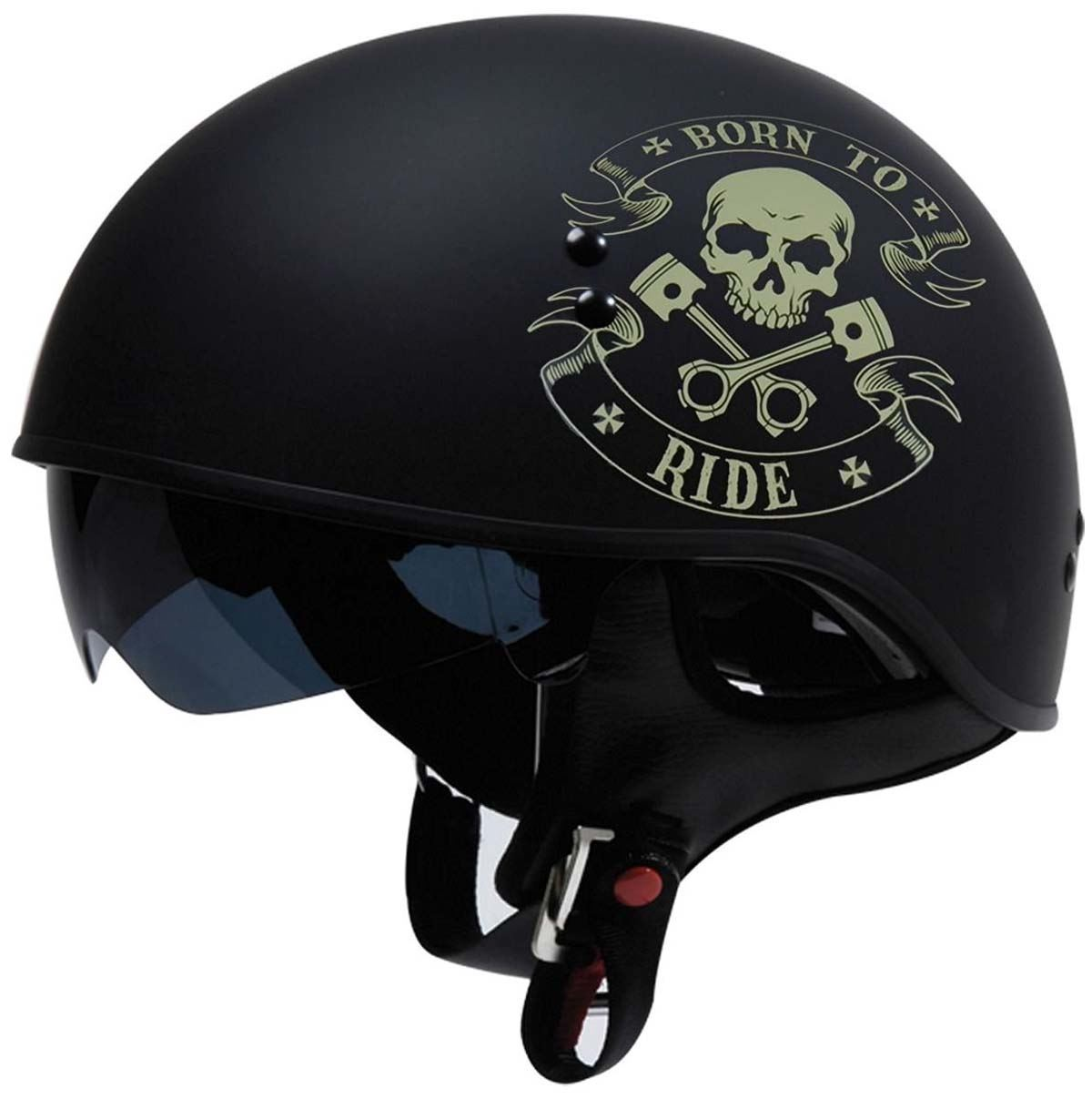 Skid Lid Helmets Original Helmet SIZE 2XL Flat Black