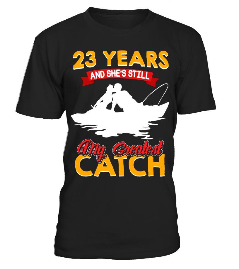 Amazing tshirt for husband 23rd wedding anniversary gift