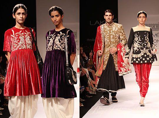 37b44cb4d21 Sabyasachi Mukherjee, Lakme Fashion Week- Winter 2011 | Inspiration ...