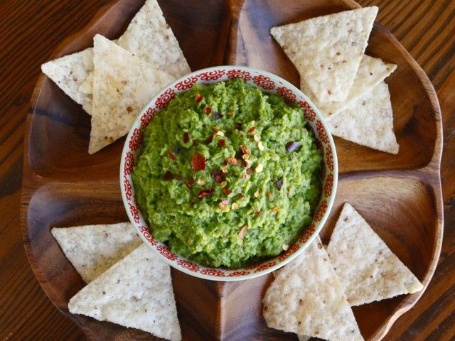 Spring Pea Guacamole - Recipe for Light and Healthy Guacamole-Style ...