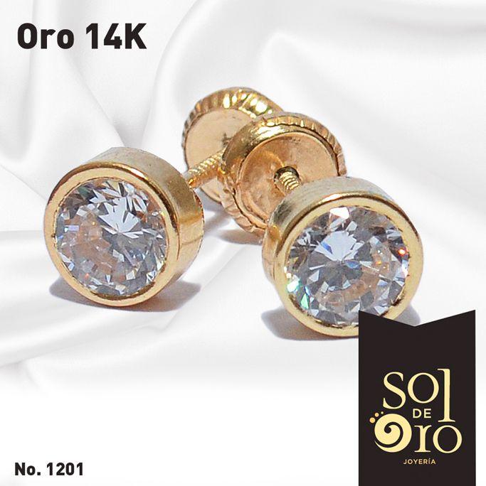 980b71566a92 Dormilona 14k gold en zirconia y disponible en Diamantes
