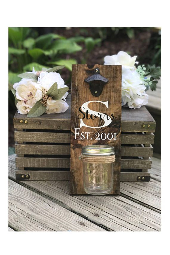 Wedding Gift For Couple Bridal Shower Gift Monogrammed Crafting