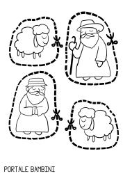 Presepe Da Colorare E Ritagliare Per Bambini.Presepe Da Ritagliare Natale Christmas Christmascrafts Christmasdecor Lavoretti Di Natale Scuola Materna Presepe Natale Scuola Materna