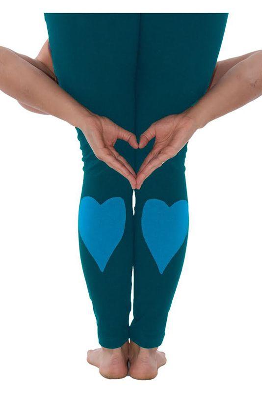 Kalhoty na jógu z bio bavlny Love pant  522ac650ee5ad