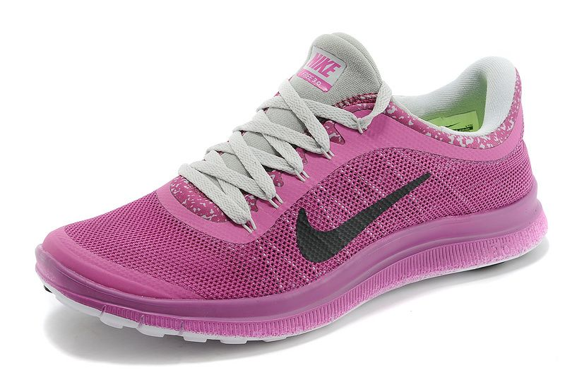 womens nike free run 3.0 v6 purple grey