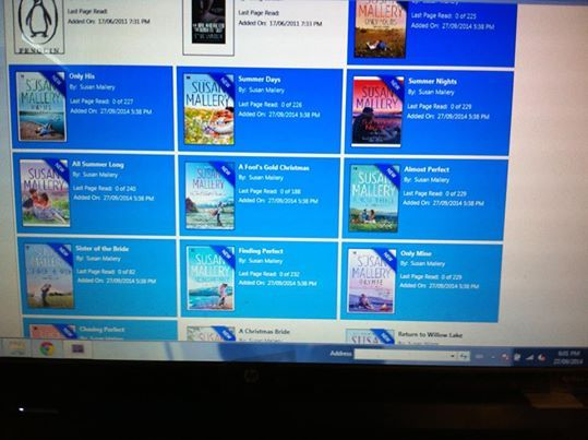 Reader Andra W says she's all set for #Fall now that she bought a bunch of my #ebooks!