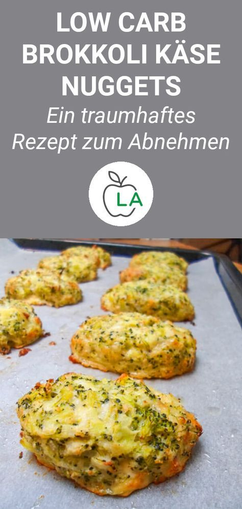 Leckere Brokkoli Käse Nuggets (Low Carb) #lowcarbyum