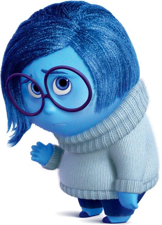 Dejected Emotion Inside Out Characters Disney Inside Out Cute Cartoon Wallpapers