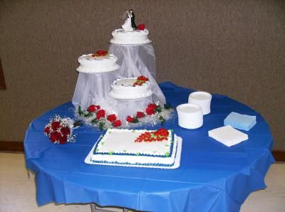 Our Wedding Cake We Decided On This Style Because It Was A Simple But Classic
