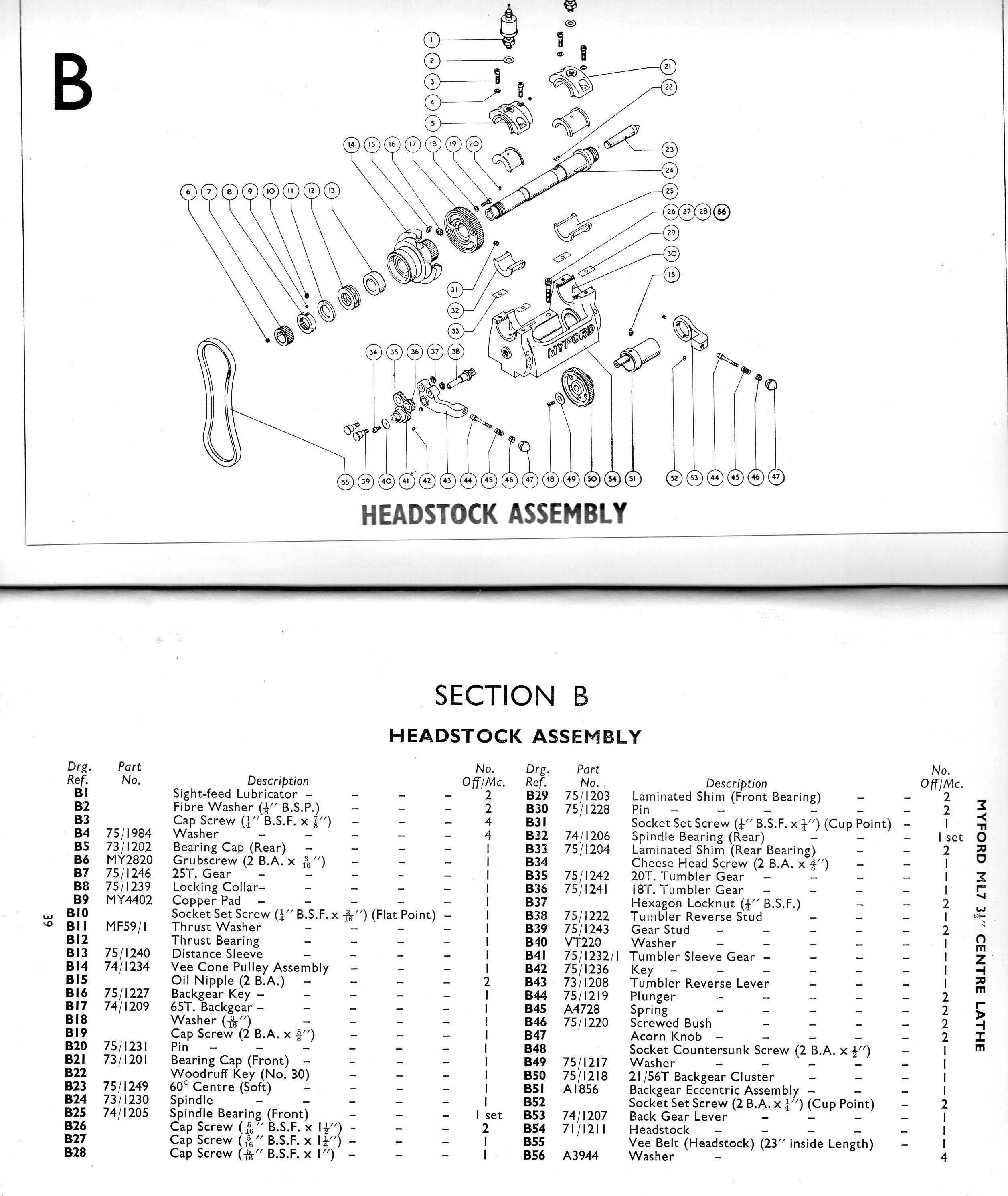 hight resolution of exploded parts diagram engineering tools lathe odd stuff freaky things tower