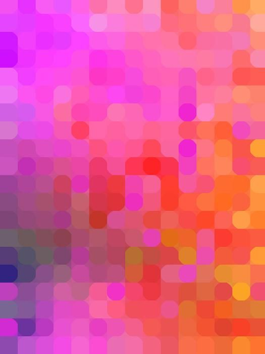 Abstract Background Of Pink Orange Yellow Purple And Blue