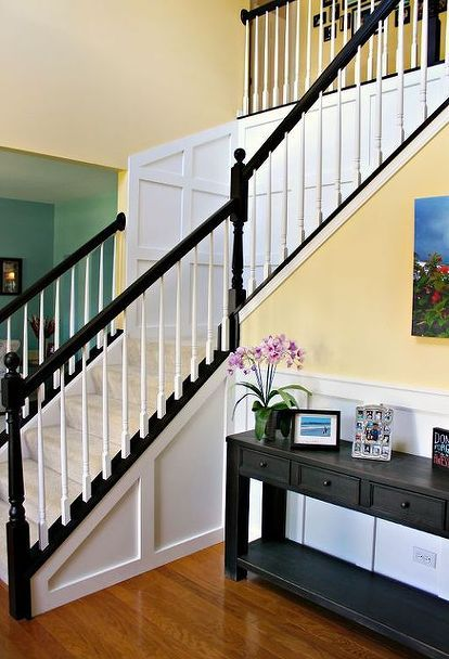 Best Updated Staircase Oak Stairs Staircase Remodel Stair 400 x 300