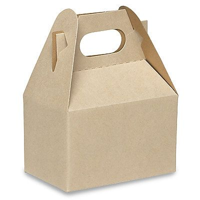 10 6 X 4 X 4 Kraft Gable Favor Boxes By Creativediysupplies 11 26 Gable Boxes Kraft Box