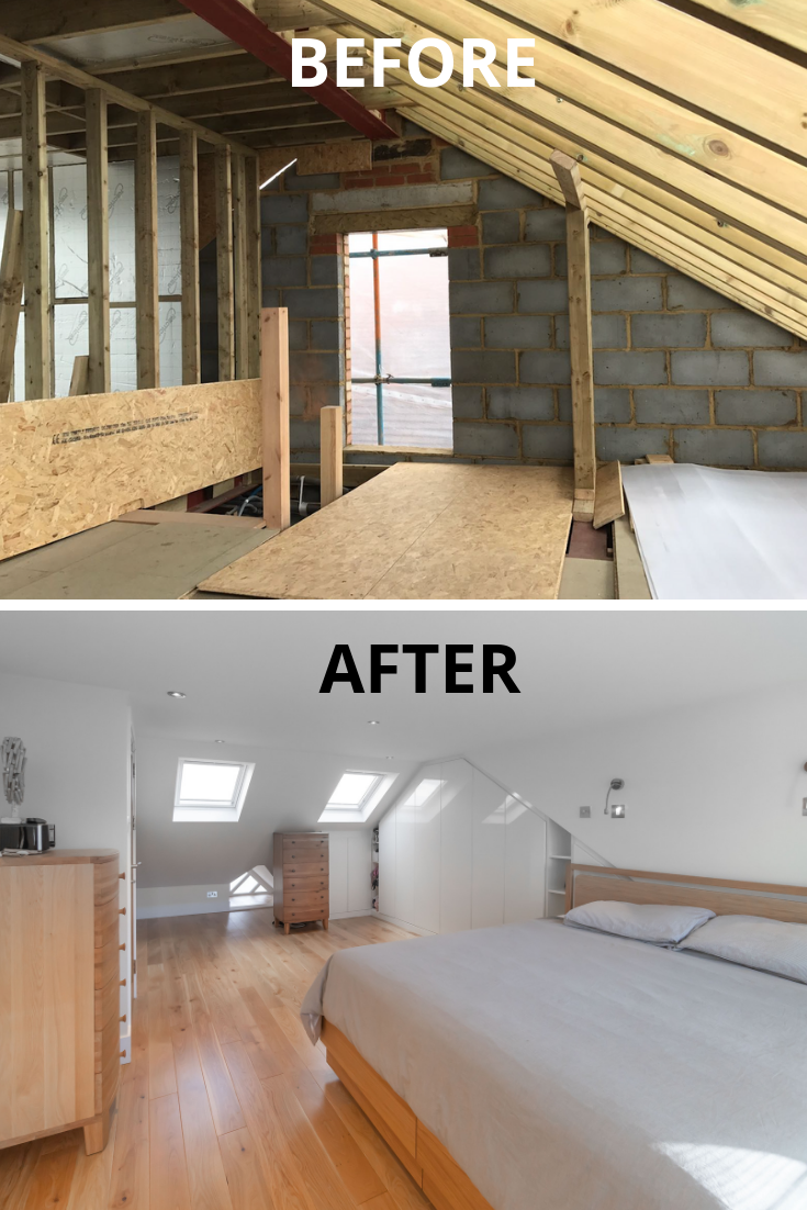Hip To Gable Loft Conversion In Osterley London Before After