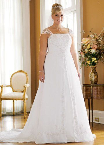 259693a76da3 David s Bridal Wedding Dress  A-line with Chiffon Split Front Overlay Style  9V9010 David s Bridal