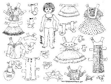 paper dolls free kids crafts paper dolls are a great craft for young children