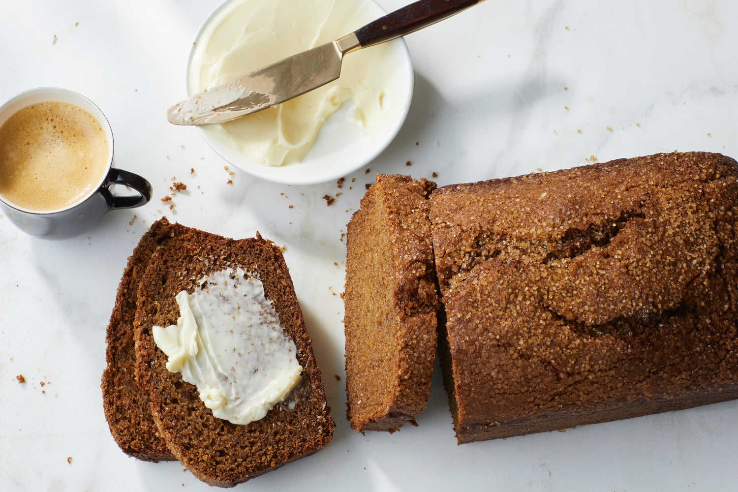Apple butter gives this bread a deep autumnal flavor and