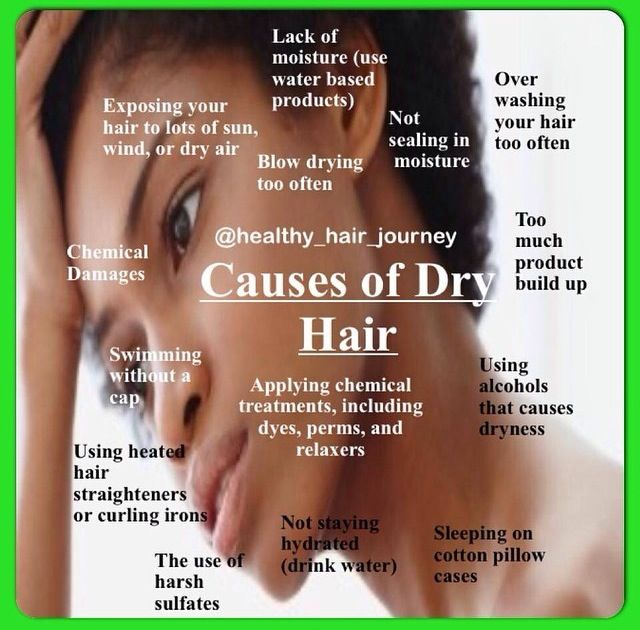 Causes Of Dry Hair I M So Pretty Hair Natural Hair Care