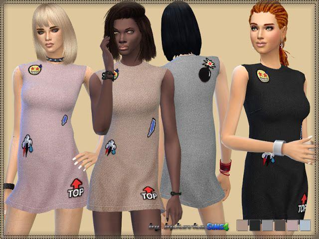 Iceberg dress at Bukovka • Sims 4 Updates