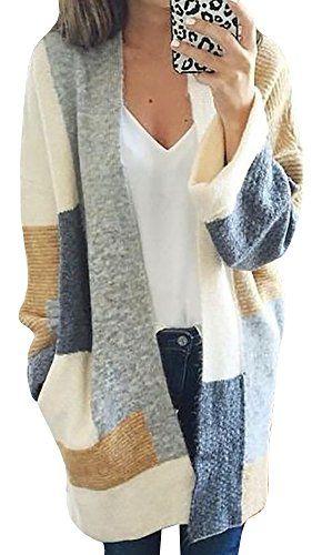 Makkrom Women's long sleeve Lapel Cardigan Top Blouse (Me... https://www.amazon.com/dp/B01MFGAC2H/ref=cm_sw_r_pi_dp_x_4W5hyb8BDCHG0
