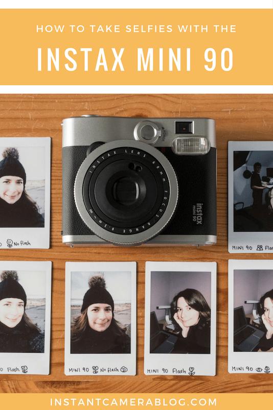 How To Take Selfies With The Fujifilm Instax Mini 90 Instant Film Camera Instax Instaxmini Mini90 Selfie Selfi Polaroid Instax Mini Instax Mini 90 Instax