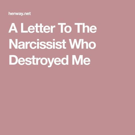 effects of dating a narcissist