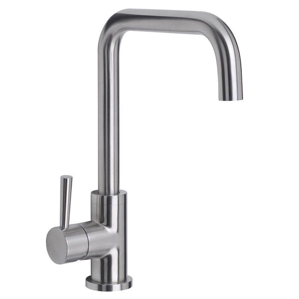 Perfect Astini Melo Brushed Stainless Steel Led Kitchen Sink Mixer Tap AK177