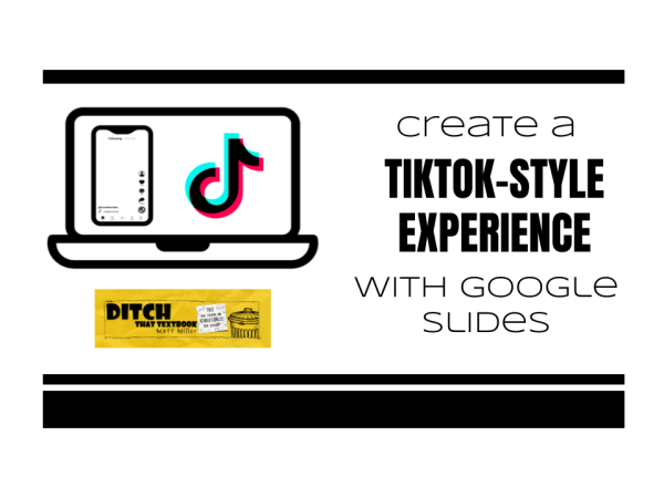 Create A Tiktok Style Experience With Google Slides Ditch That Textbook Textbook Google Slides Media Literacy Lessons