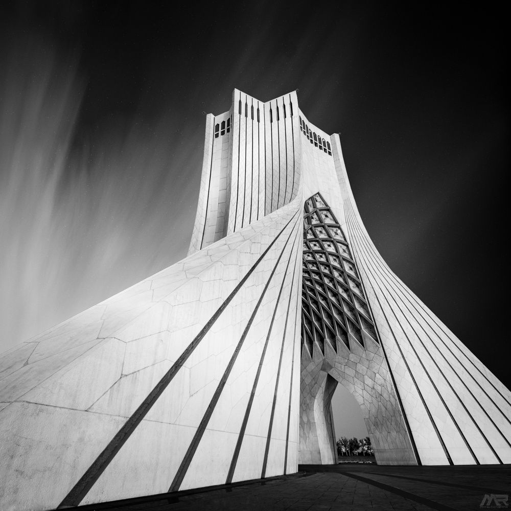 As one of the symbols of Tehran city, Azadi Tower | Architecture ...