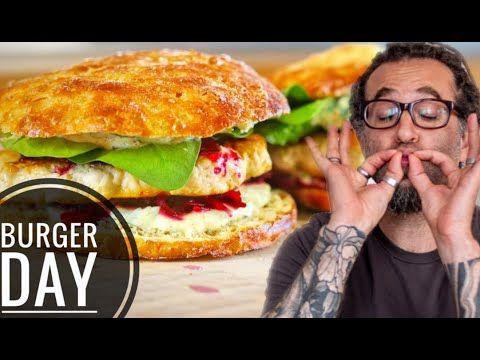 Wie man den perfekten Chicken Burger selber macht