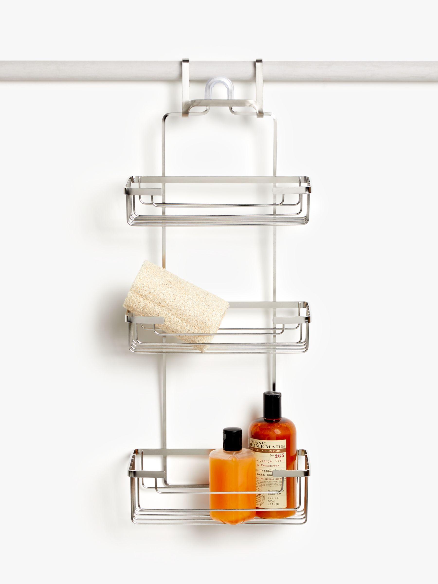 John Lewis Partners Three Tier Shower Caddy Shower Shower Accessories Shower Heads