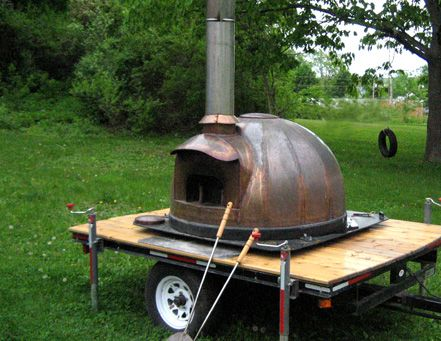 Unpolished Wood Fired Oven