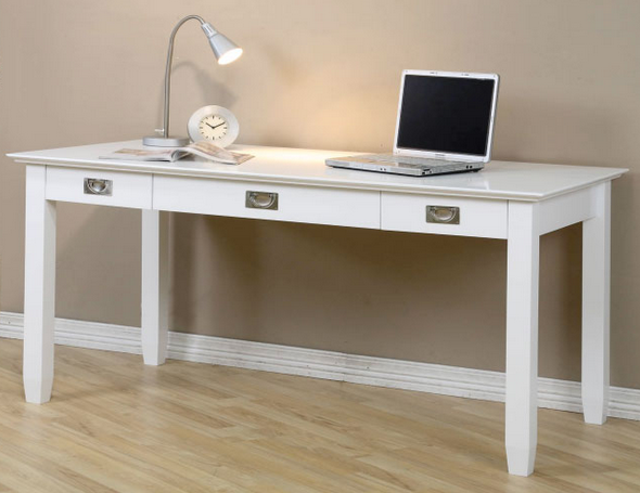 Fabulous Finds Modern White Desks In Every Price Range White Writing Desk Modern White Desk Wooden Writing Desk