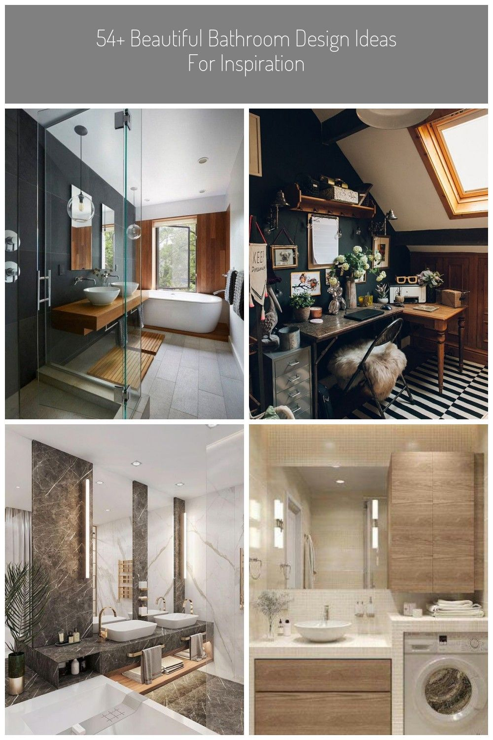 Find Practical Washroom Style Concepts For The Guest Washroom To The Master Ensuite See More Ide In 2020 Beautiful Bathroom Designs Beautiful Bathrooms Washroom Style