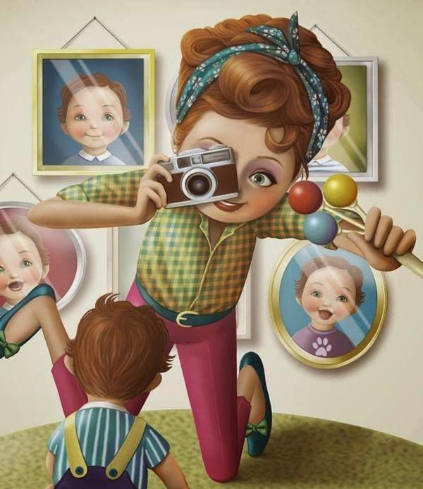 Miuika Ilustracoes De Nina De San Imagens Fofas