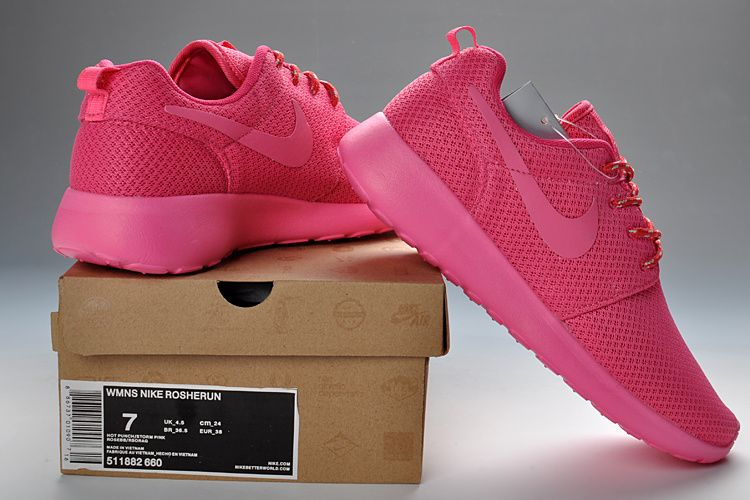 new style 99010 3d9a6 Nike Roshe Run Womens Popping Pink 511882 660
