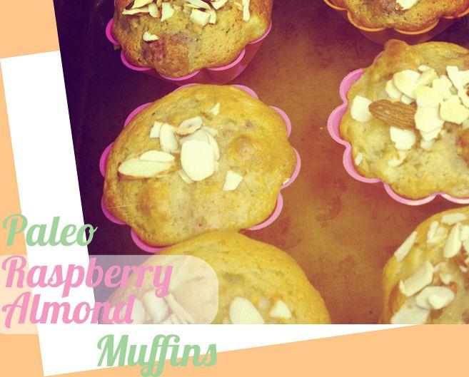 SCD Raspberry Almond Muffins