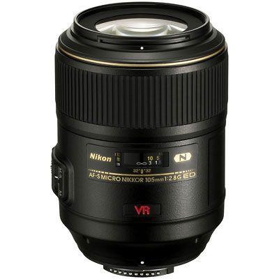 Nikon 105mm F2 8 G Af S Vr If Ed Micro Nikkor Lens