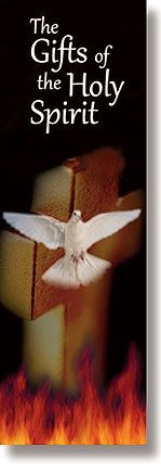 Gifts of the Spirit, List of the Gifts of the Spirit Confirmation Bookmark