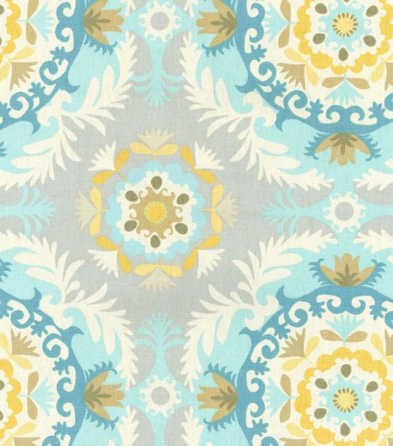 House · Waverly Home Decor Print Fabric  ...