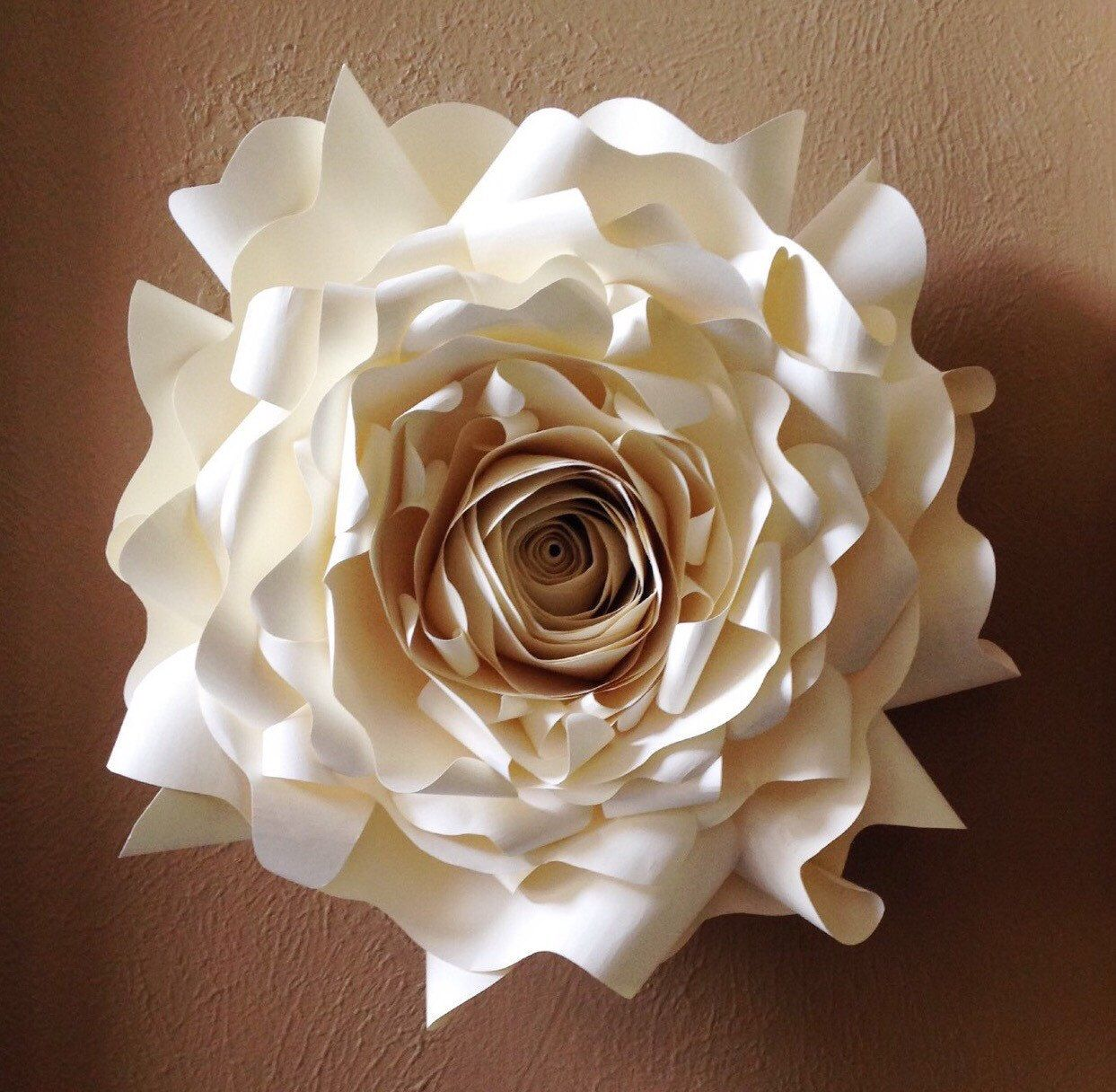 Giant Paper Wall Flower Wall Decor Wedding Decor Party Decor