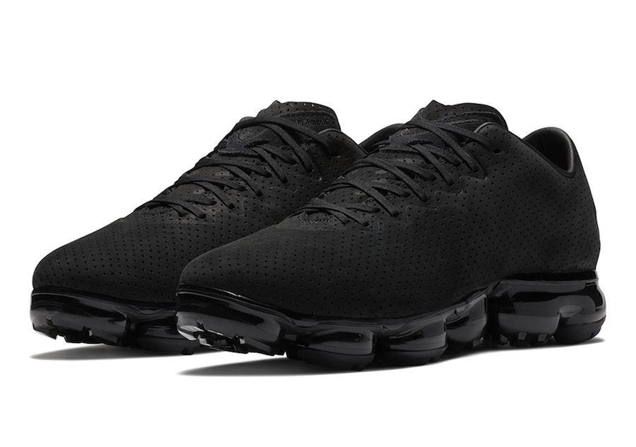 a40386a30e0 Nike VaporMax Leather Suede Black